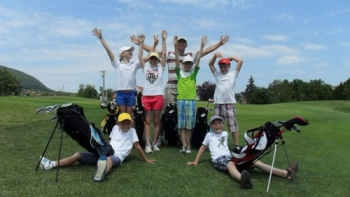 Junior golftábor Balatongyörökön