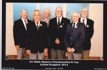 A  Masters   -   Európa Bajnokság 70 éven felülieknek