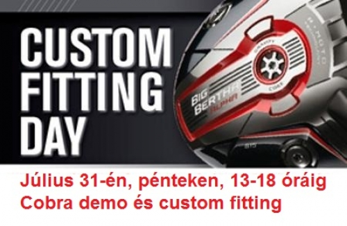 Cobra Custom Fitting