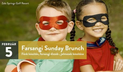 Farsangi SUNDAY BRUNCH