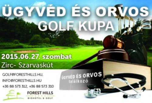 GOLF verseny a Forest Hillsen