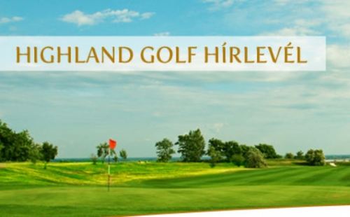 IDÉN IS LESZ HIGHLAND MATCH PLAY RANGLÉTRA