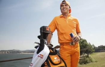 Extrém golf Rickie Fowlerrel