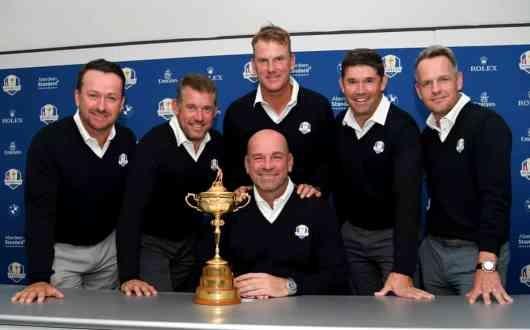 Ryder Cup: A segédkapitányok