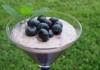 Könnyű áfonyás desszert