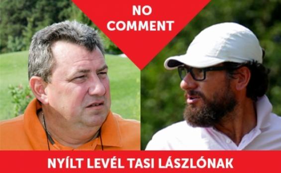 Meznerics Gergő Nyílt levele Tasi Lászlónak