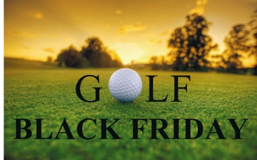 November 23 - 25. Black Friday a Golf USA-ban